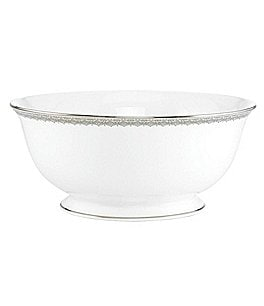 Image of Lenox Lace Couture Serving Bowl