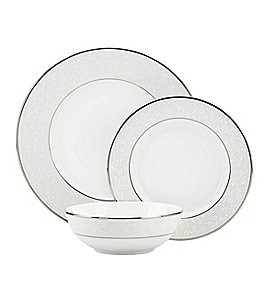 Image of Lenox Opal Innocence 3-Piece Place Setting