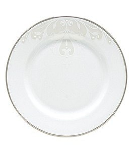 Image of Lenox Opal Innocence Scroll 6 Bread & Butter Plate