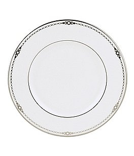 Image of Lenox Pearl Platinum Bone China Accent Salad Plate