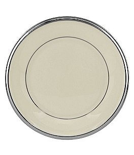 Image of Lenox Solitaire Platinum Bread & Butter Plate