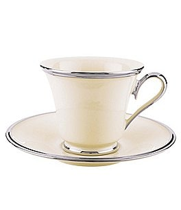 Image of Lenox Solitaire Platinum Cup & Saucer