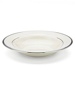 Image of Lenox Solitaire Platinum Rim Soup Bowl