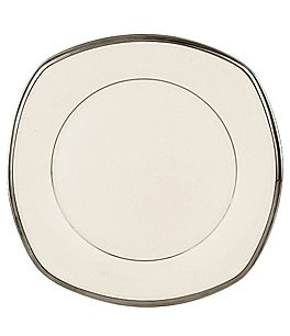 Image of Lenox Solitaire Square Accent Salad Plate
