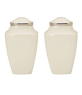 Image of Lenox Solitaire Square Salt & Pepper Shaker Set