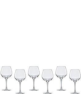 Image of Lenox Tuscany 6-Piece Balloon Red Wine Glass Set