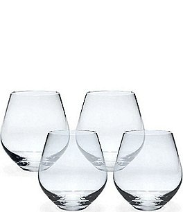 Image of Lenox Tuscany Classics 4-Piece Stemless Red Wine Glass Set