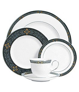 Image of Lenox Vintage Jewel Bone China 5-Piece Place Setting