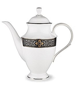 Image of Lenox Vintage Jewel Bone China Coffeepot