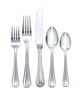 Image of Lenox Vintage Jewel Traditional Stainless Steel Flatware