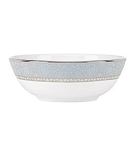 Image of Lenox Westmore Floral Platinum Bone China Bowl