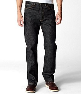 Image of Levi's® 501® Original Shrink-To-Fit Jeans