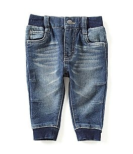 Image of Levi's® Baby Boys 6-24 Months Knit Denim Jogger Pants