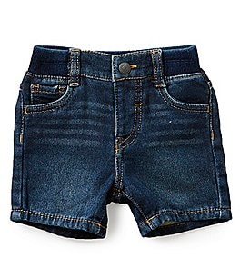 Image of Levi's® Baby Boys 3-24 Months Denim Knit Shorts