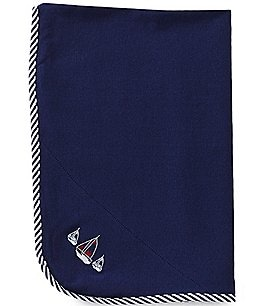 Image of Little Me Sailboats Blanket