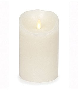 Image of Luminara Vanilla-Scented LED Pillar Candle