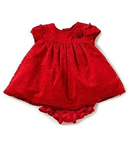 Image of Marmellata Baby Girls Newborn-24 Months Lace Fit-And-Flare Dress
