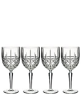 Image of Marquis by Waterford 4-Piece Brady Crystal Wine Glass Set