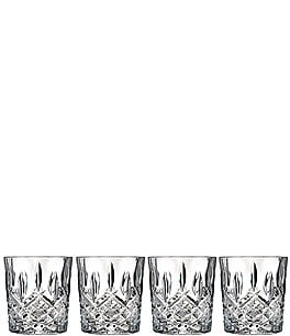 Image of Marquis by Waterford Markham 4-Piece Traditional Crystal Double Old Fashioned Glass Set