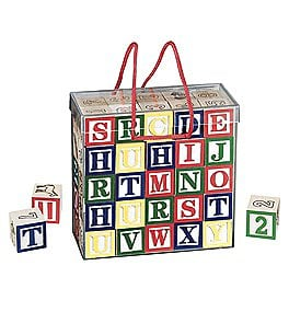 Image of Melissa & Doug Deluxe Wooden Blocks