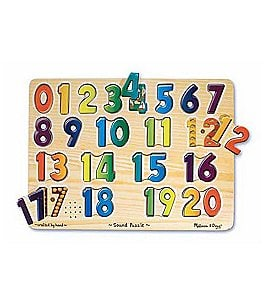 Image of Melissa & Doug Numbers Sound Puzzle