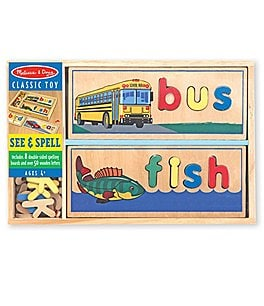 "Image of Melissa & Doug ""See & Spell"" Puzzle Boards"