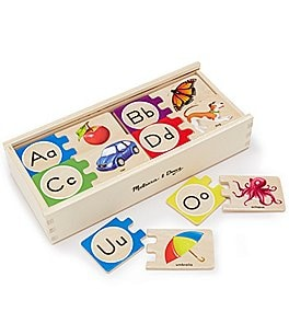 Image of Melissa & Doug Self-Correcting A-Z Letter Puzzles