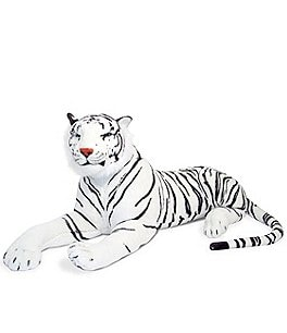 "Image of Melissa & Doug 20"" White Tiger Giant Stuffed Animal"