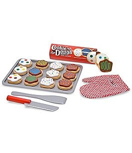 Image of Melissa & Doug Wooden Slice & Bake Cookie Set