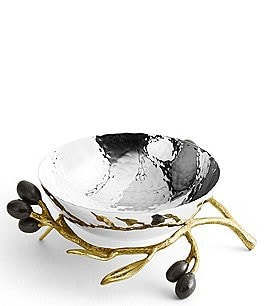 Image of Michael Aram Olive Branch Nut Dish