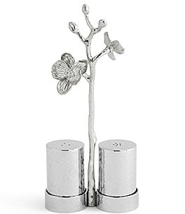 Image of Michael Aram White Orchid Salt & Pepper Set with Caddy