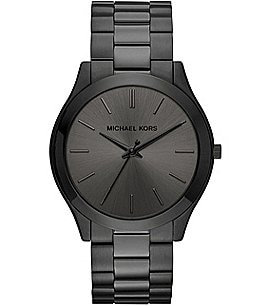 Image of Michael Kors Slim Runway Analog Bracelet Watch