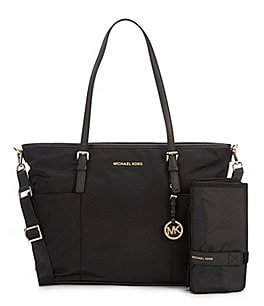 Image of MICHAEL Michael Kors Jet Set Large Pocket Diaper Bag
