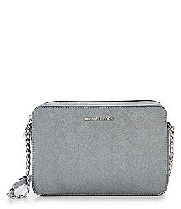 Image of MICHAEL Michael Kors Jet Set Metallic East/West Cross-Body Bag
