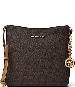 Image of MICHAEL Michael Kors Jet Set Signature Large Cross-Body Bag