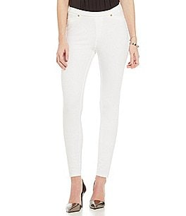 Image of MICHAEL Michael Kors Stretch Knit Twill Leggings