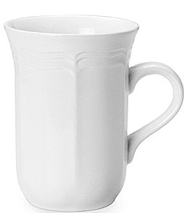 Image of Mikasa Antique White Porcelain Cappuccino Mug