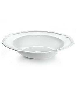 Image of Mikasa Antique White Porcelain Soup Bowl