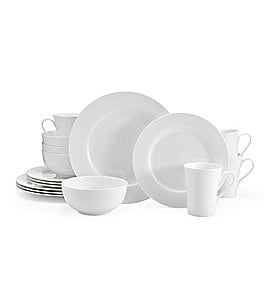 Image of Mikasa Delray 16-Piece Bone China Dinnerware Set