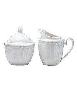 Image of Mikasa Italian Countryside Creamer/Sugar Bowl Set
