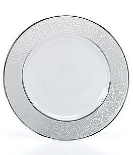 Image of Mikasa Parchment Ivy Scroll Platinum Porcelain Bread & Butter Plate