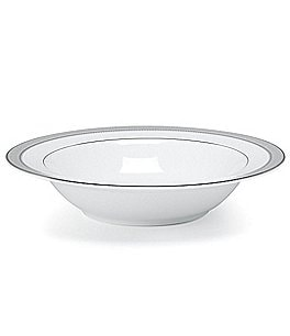Image of Mikasa Platinum Crown Filigree Platinum Porcelain Fruit Bowl