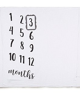 Image of Mud Pie Baby Milestone Photo Blanket