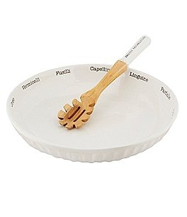 Image of Mud Pie Circa 2-Piece Pasta Bowl & Server Set