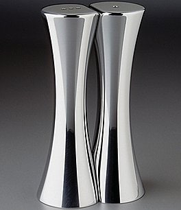 Image of Nambe Kissing Salt & Pepper Shaker Set