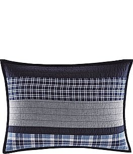 Image of Nautica Adelson Pieced Plaid Sham
