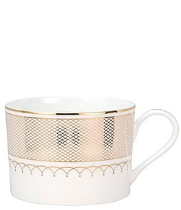 Image of Nikko Lattice Gold Bone China Teacup