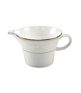 Image of Nikko Pearl Symphony Scroll Bone China Creamer