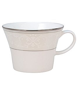 Image of Nikko Pearl Symphony Scroll Bone China Cup