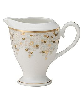 Image of Nikko Spangles Shimmering Bone China Creamer